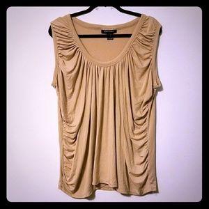 GUC Ashley Stewart ruched sleeveless blouse, 18/20